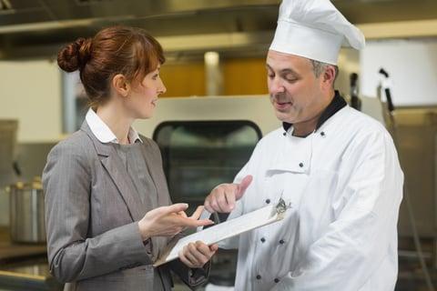 calcolo costo del piatto