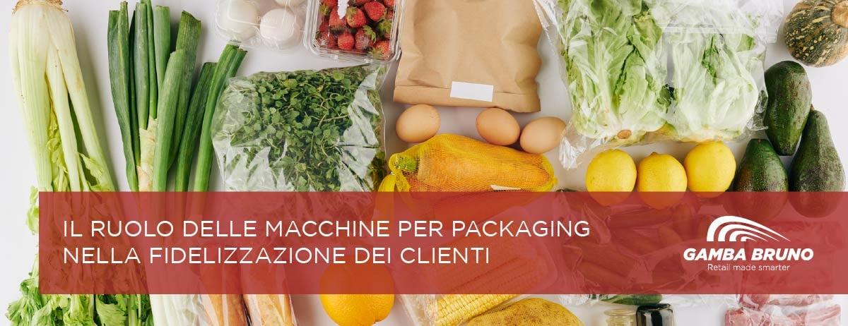 macchine per packaging