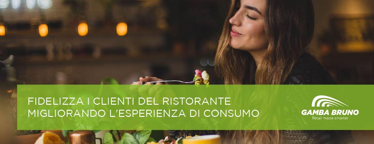 fidelizza i clienti del ristorante