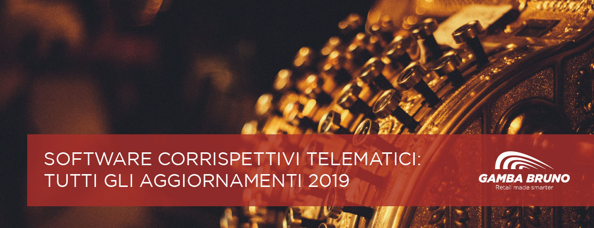 software corrispettivi telematici 2019