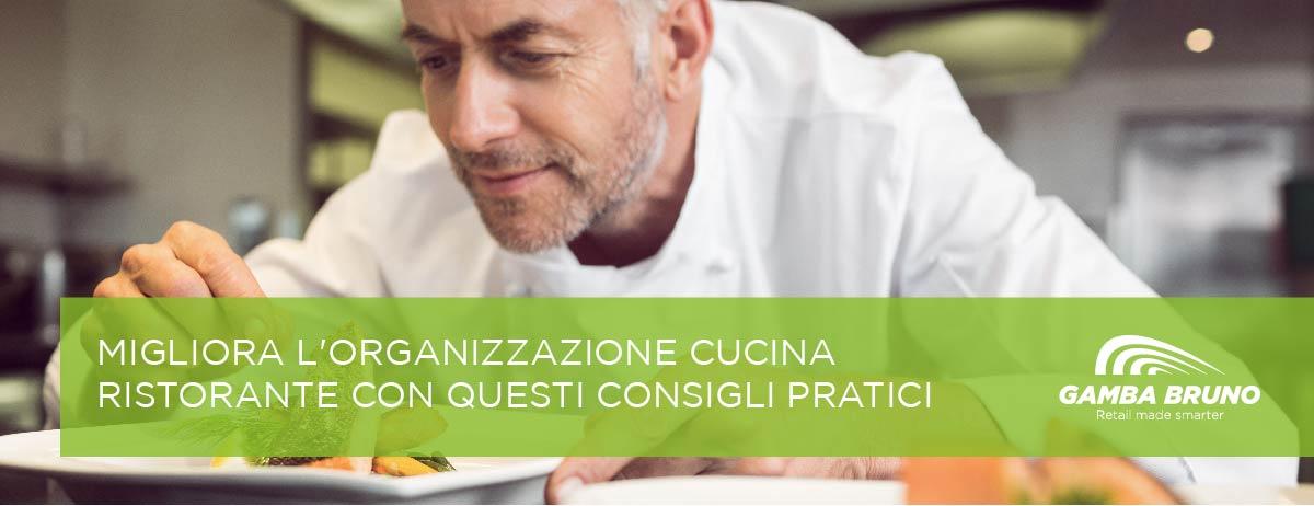 organizzazione cucina ristorante