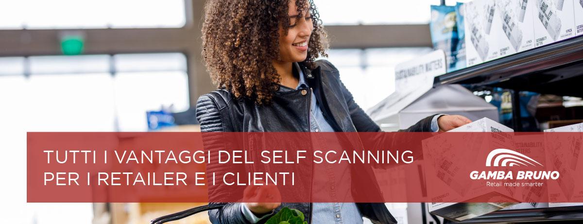 self scanning per i retailer