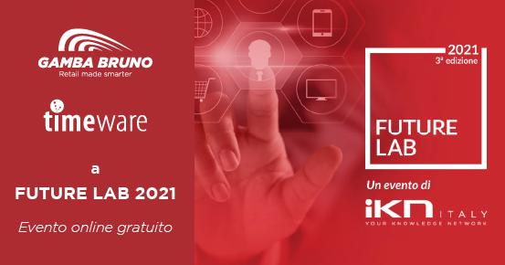 Gamba Bruno e Timeware a Future Lab 2021