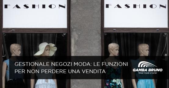 gestionale negozi moda