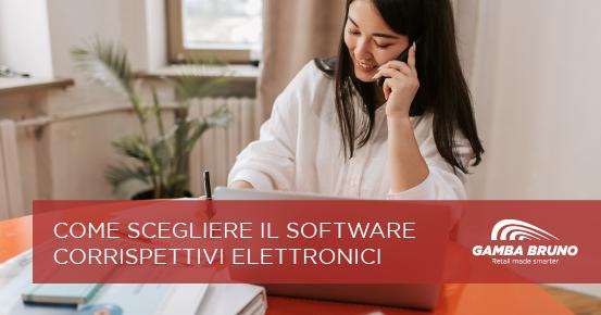 software corrispettivi telematici