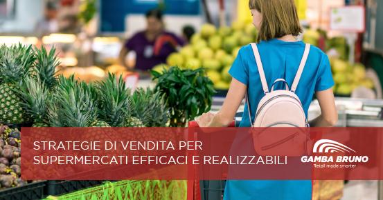 strategie di vendita per supermercati