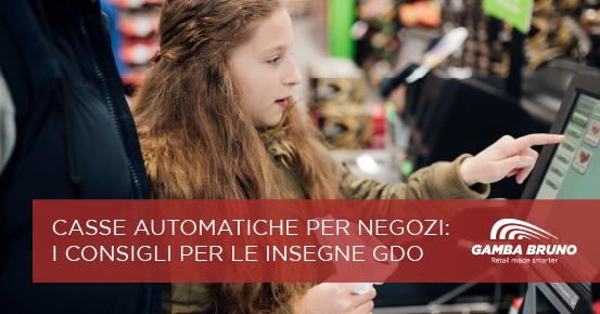 casse automatiche per negozi
