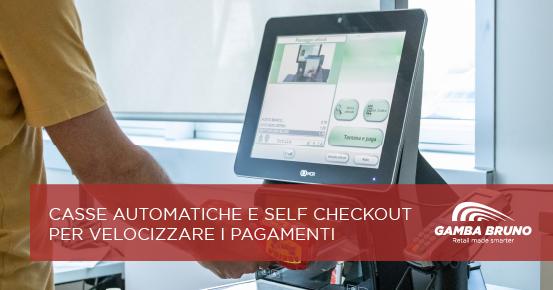 casse automatiche self checkout