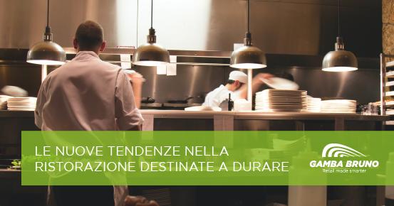 nuove tendenze nella ristorazione