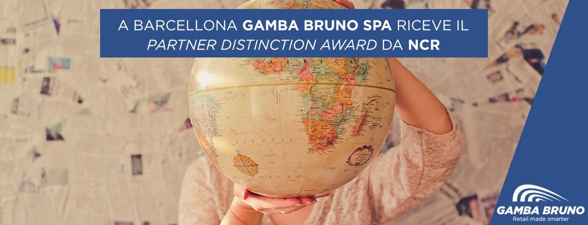 gamba bruno partner distinction award NCR
