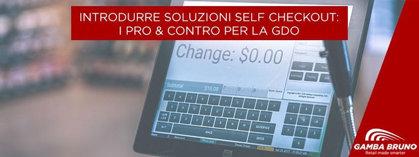 soluzioni self check out